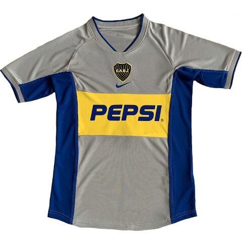 Retro Boca Juniors Third Football Shirt 02 03
