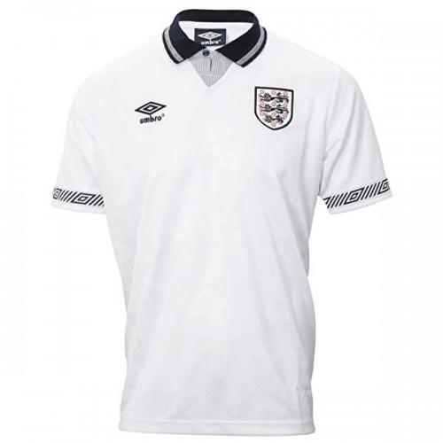 Retro England Home Football Shirt 1990