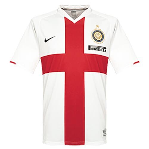 Retro Inter Milan Away Football Shirt 07 08
