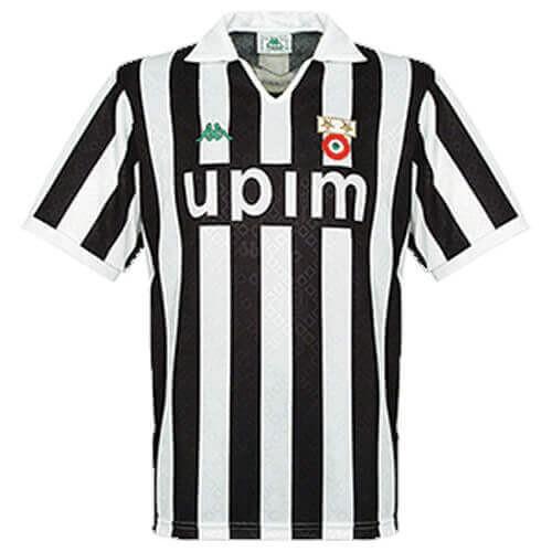 Retro Juventus Home Football Shirt 90 91