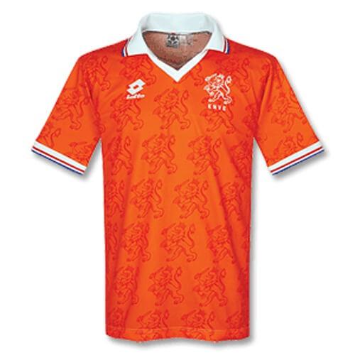 Retro Netherlands Home 1996 Football Shirt