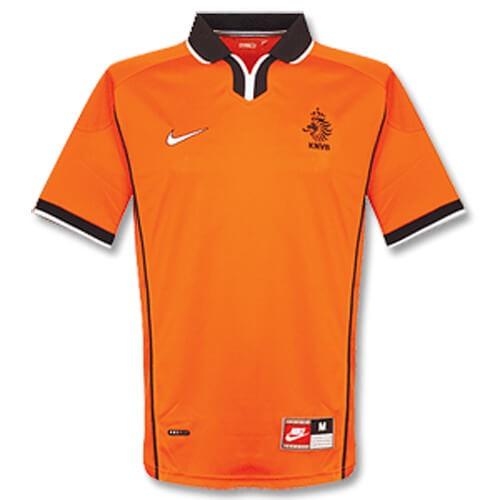 Retro Netherlands Home 1998 Football Shirt