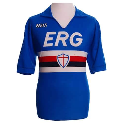 Retro Sampdoria Home Football Shirt 90 91