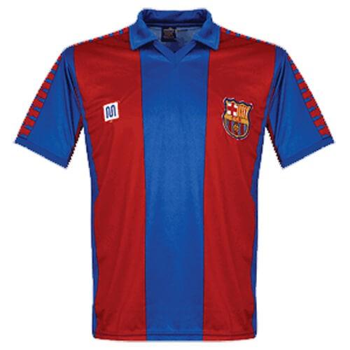 Retro Barcelona Home Football Shirt 82 84