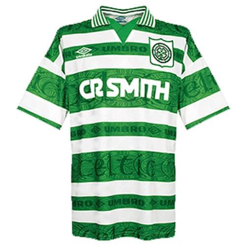 Retro Celtic Home Football Shirt 96 97