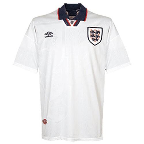 Retro England Home Football Shirt 1994