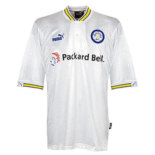 Retro Leeds United Home Football Shirt 96 98