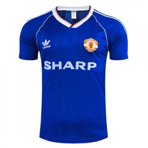 Retro Manchester United Third Football Shirt 1988