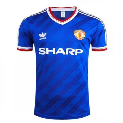Retro Manchester United Third Football Shirt 1986