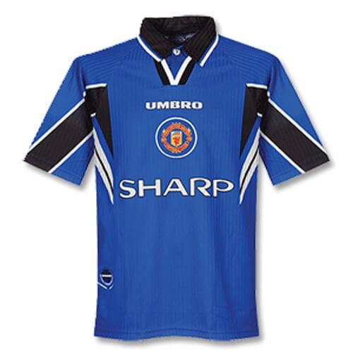 Retro Manchester United Third Football Shirt 97 99