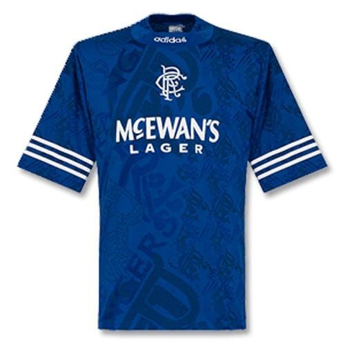 Retro Rangers Home Football Shirt 95 96