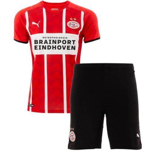 PSV Eindhoven Home Kids Football Kit 21 22