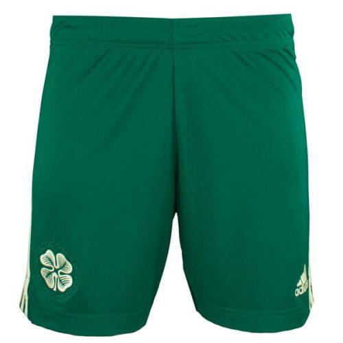Celtic Away Football Shorts 21 22
