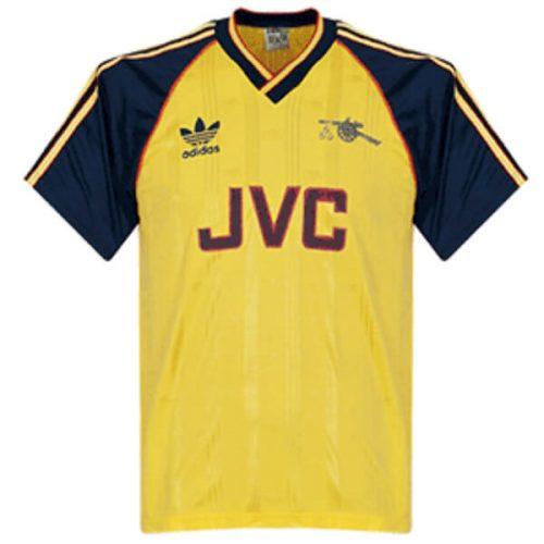 Retro Arsenal Away Football Shirt 1988