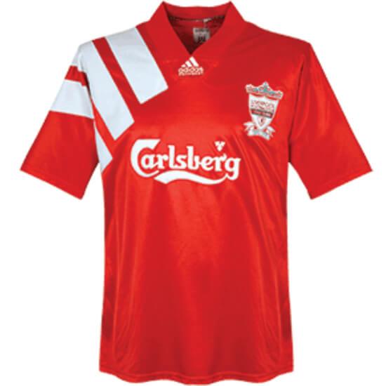 Retro Liverpool Home Football Shirt 1992