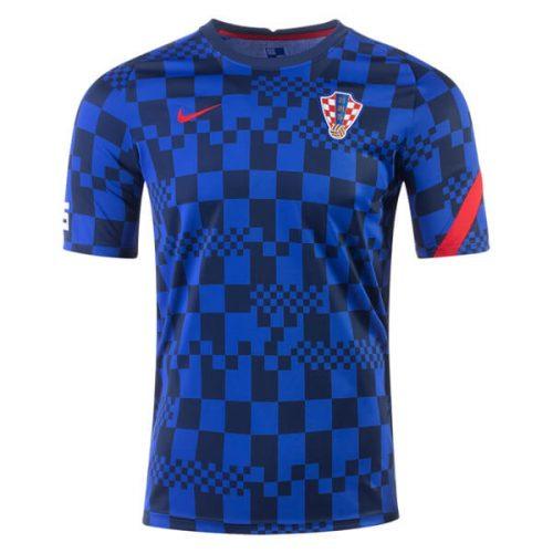 Croatia Pre Match Training Soccer Jersey 2020