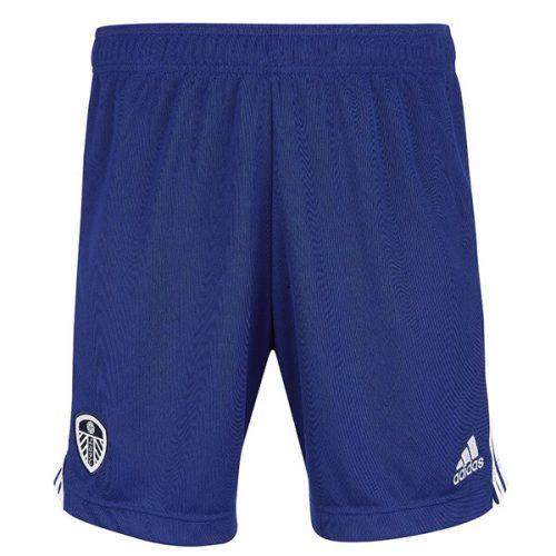 Leeds United Away Football Shorts 21 22