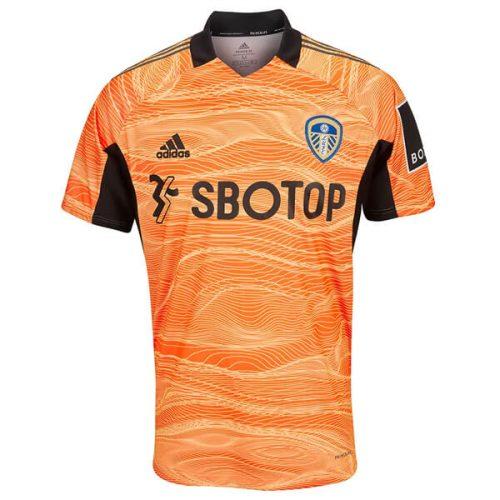 Leeds United Away Goalkeeper Football Shirt 21 22