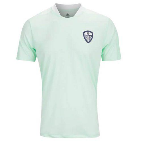 Leeds United Pre Match Training Football Shirt - Mint