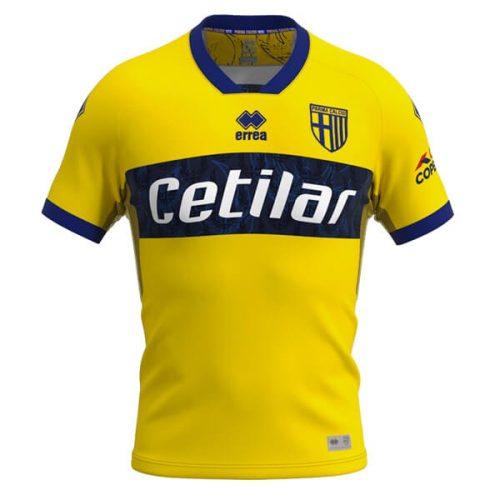 Parma Away Football Shirt 20 21 - Yellow