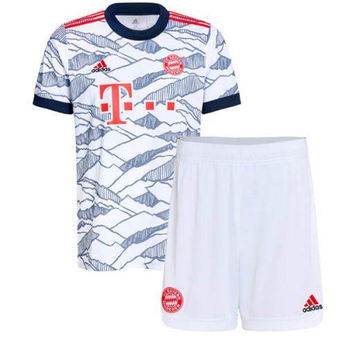 Bayern Munich Third Kids Football Kit 21 22