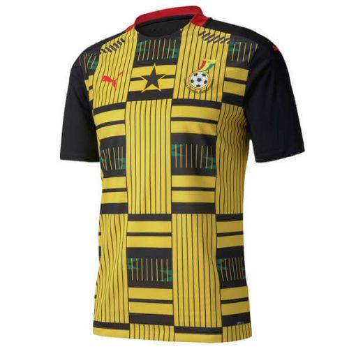 Ghana Away Football Shirt 20 21