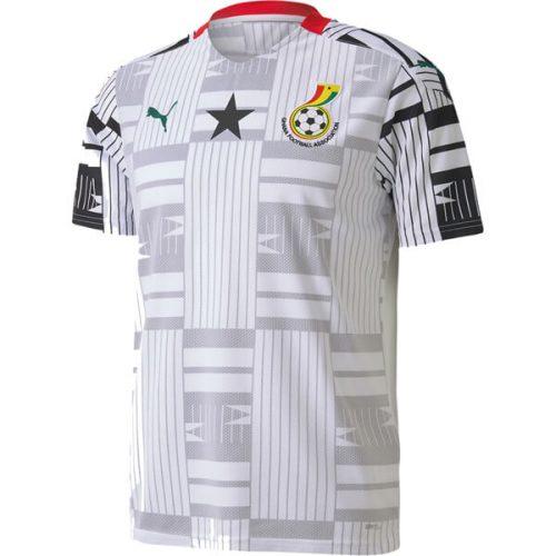 Ghana Home Football Shirt 20 21