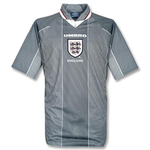 Retro England Away Football Shirt 1996