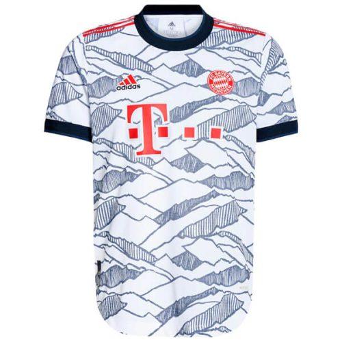 Bayern Munich Third Player Version Football Shirt 21 22
