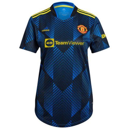 Manchester United Third Womens Football Shirt 21 22