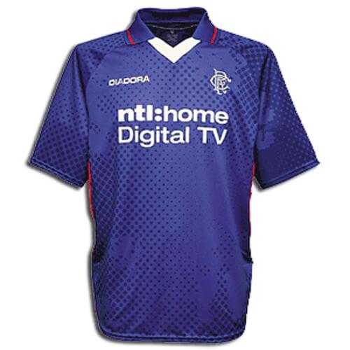 Retro Rangers Home Football Shirt 02 03