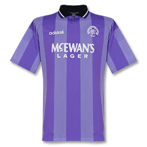 Retro Rangers Third Football Shirt 94 95