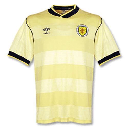 Retro Scotland Away Football Shirt 86