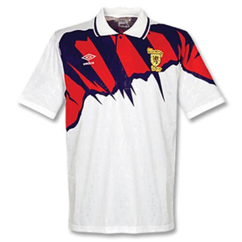 Retro Scotland Away Football Shirt 91 93