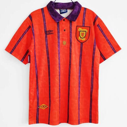 Retro Scotland Away Football Shirt 93 94