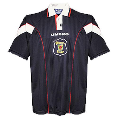Retro Scotland Home Football Shirt 96 97