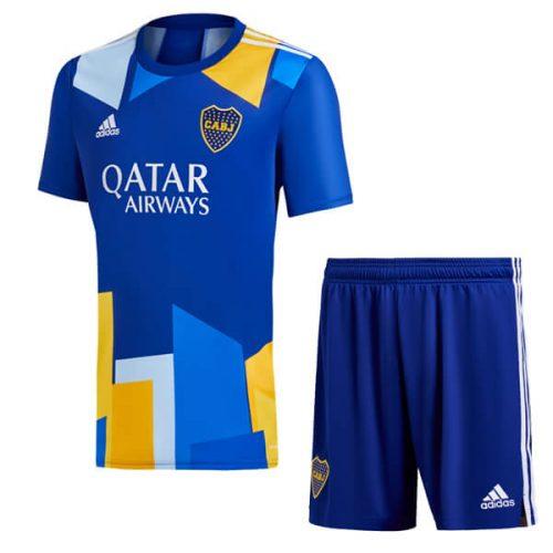 Boca Juniors Third Kids Soccer Kit 2021
