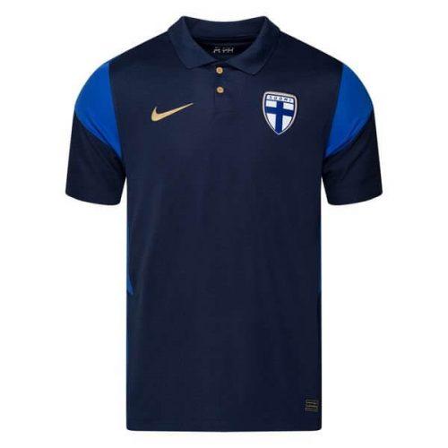 Finland Away Football Shirt 20 21