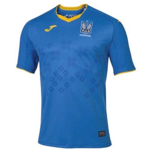 Ukraine Away Football Shirt 2021