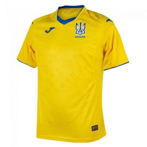 Ukraine Home Football Shirt 2021