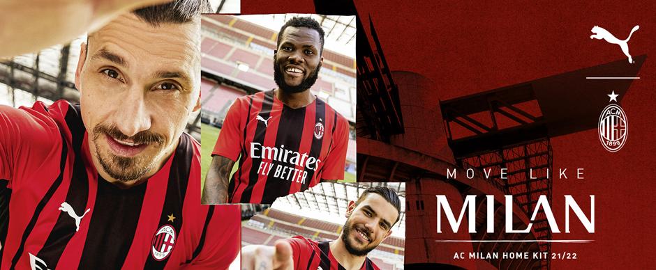 AC Milan Football Shirt 21 22