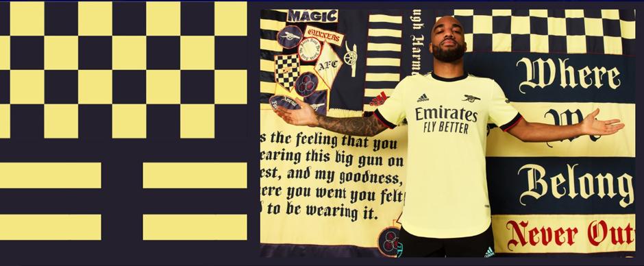 Arsenal Away Football Shirt 21 22