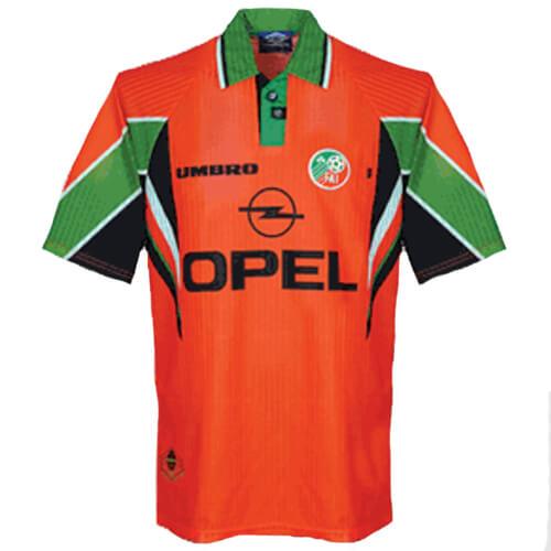 Retro Ireland Away Football Shirt 97 98