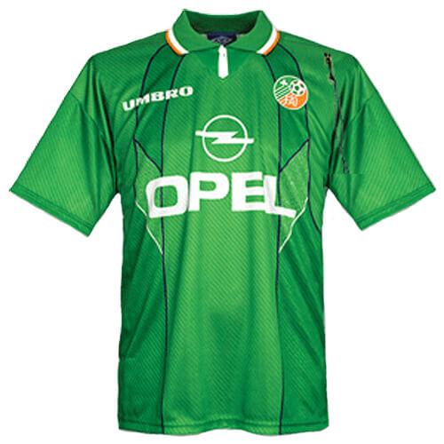 Retro Ireland Home Football Shirt 95 96