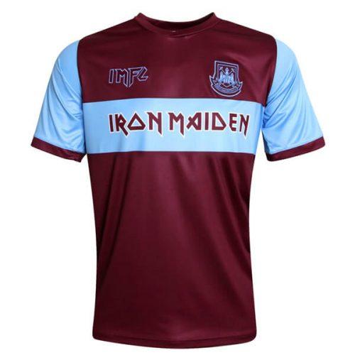 West Ham Iron Maiden Home Football Shirt