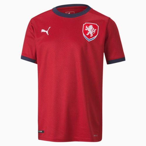 Czech Republic Home Football Shirt 2021