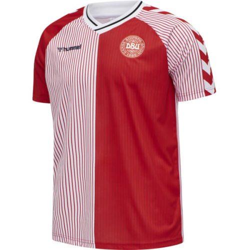 Retro Denmark Home Football Shirt 86