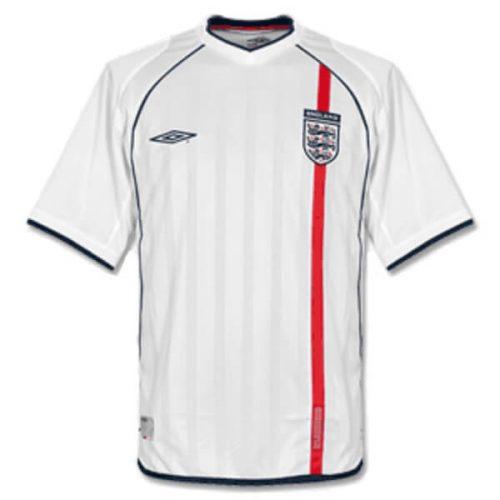 Retro England Home Football Shirt 2002