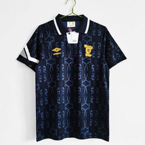 Retro Scotland Home Football Shirt 92