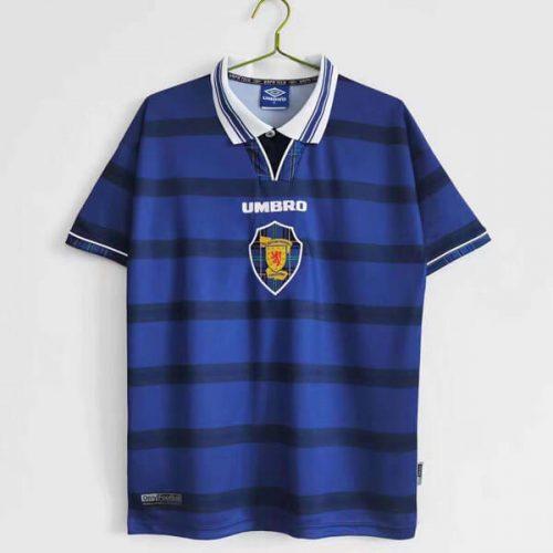 Retro Scotland Home Football Shirt 98